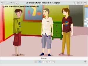 Le temps futur en français et espagnol