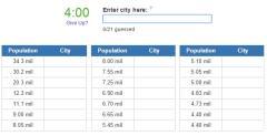 Biggest cities in China (JetPunk)
