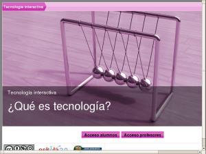 Tecnología interactiva - ¿Qué es tecnología?