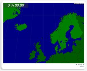 Escandinavia: Países. Seterra