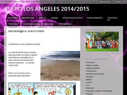 4º EPO LOS ÁNGELES 2014/2015