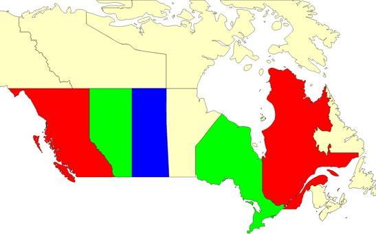 Canada map  (JetPunk)