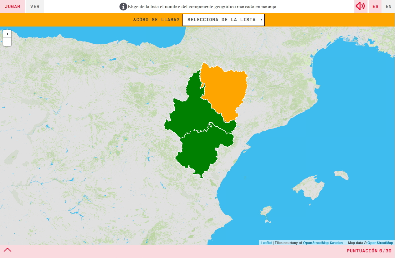 Provincia De Aragon Mapa.Interactive Map What S The Name Provinces Of Aragon Mapas Interactivos De Didactalia