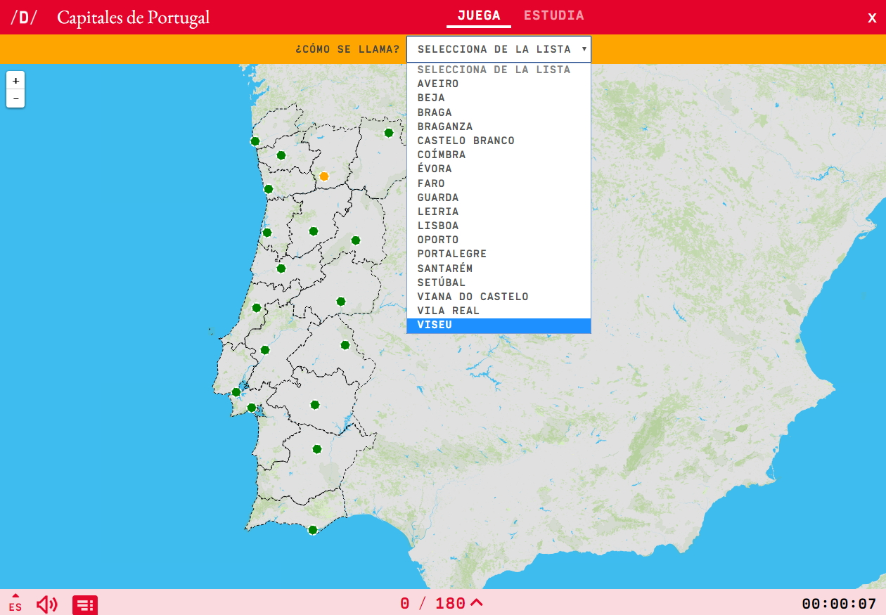 Capital cities of Portugal