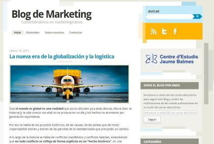 Blog de Marketing