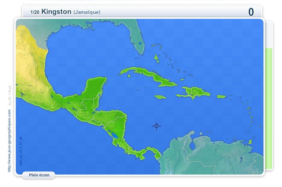 Carte Amerique Interactive.Carte Interactive De L Amerique Centrale Villes D Amerique