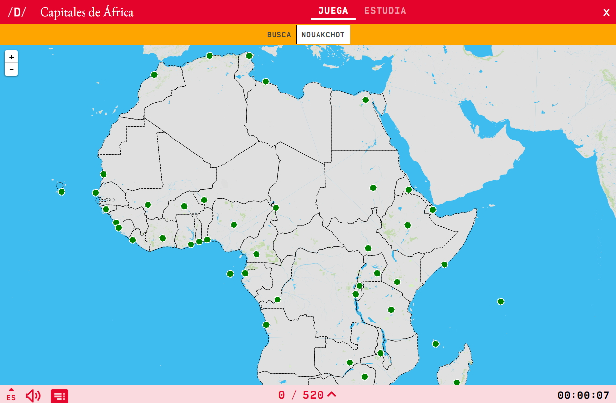 Mapa Politic Africa Catala.Interactive Map Where Is It Capitals Of Africa Mapas
