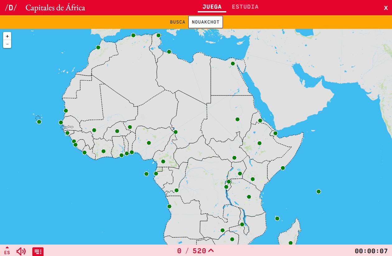Capitals of Africa