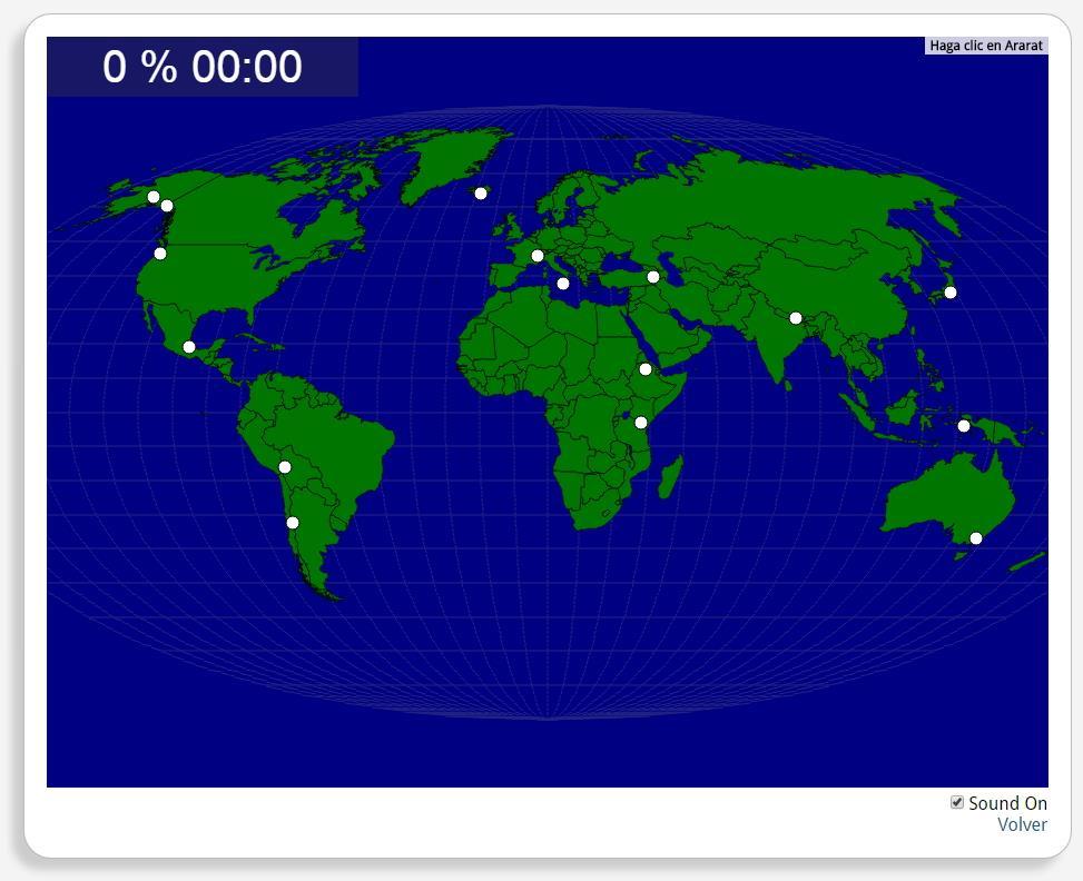 Wereld: Bergen en Vulkanen. Seterra