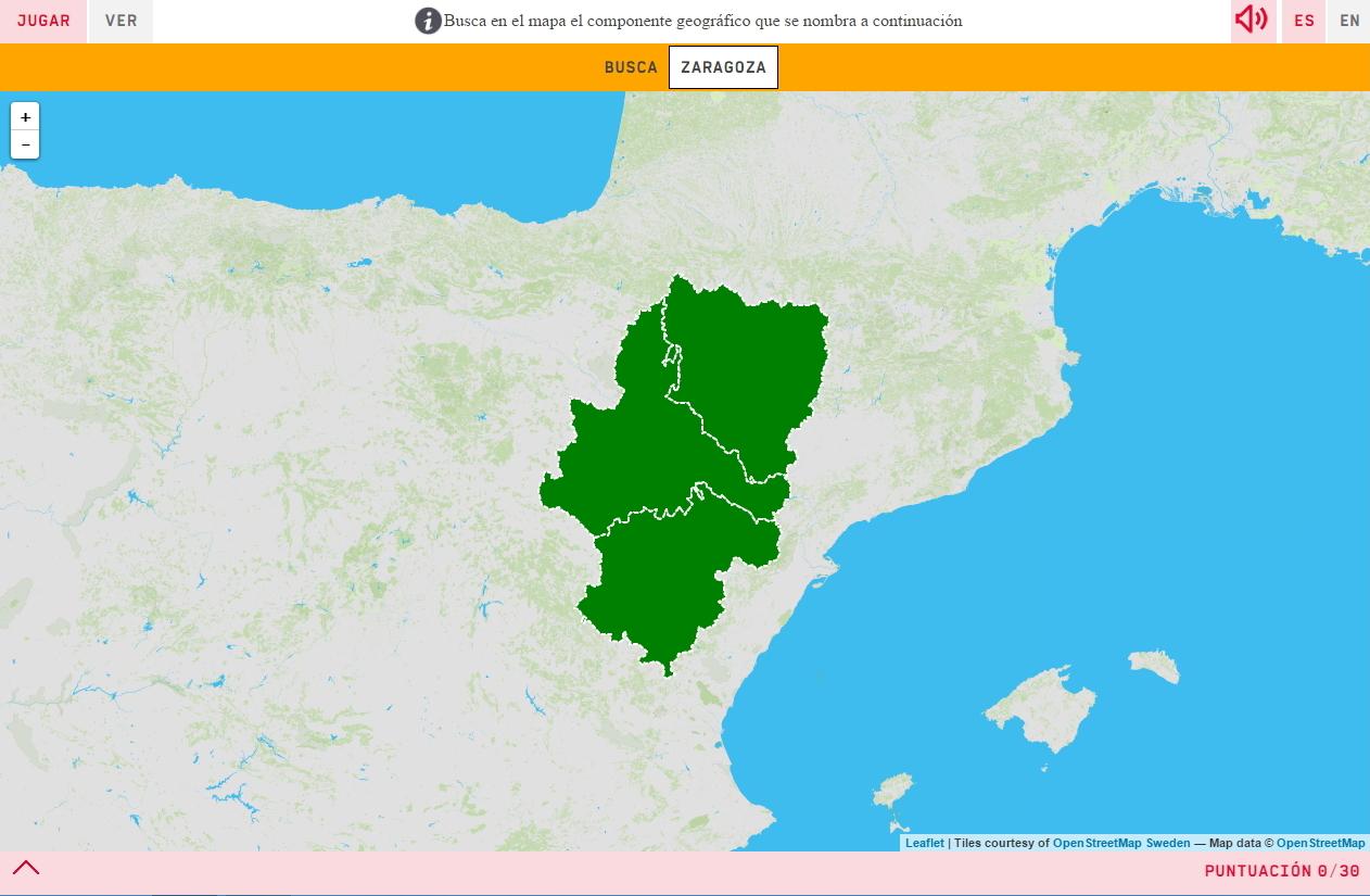 Provinzen von Aragon