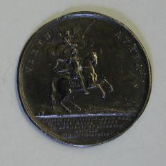 Prueba de reverso para la medalla conmemorativa de la batalla de Luzzara