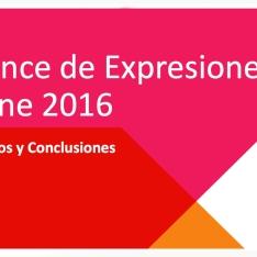 BEO 2016 - V Edición del Balance de Expresiones Online