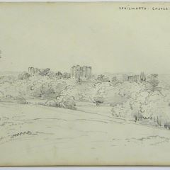 Castillo de Kenilworth, Warwickshire (Inglaterra)