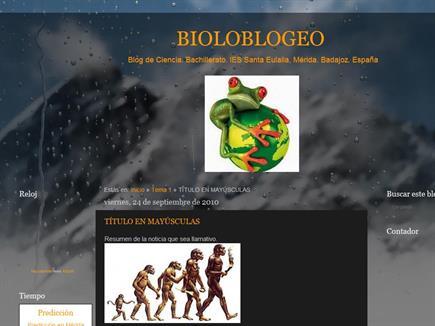 Bioloblogeo