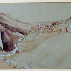 Vista de Narni (Italia)