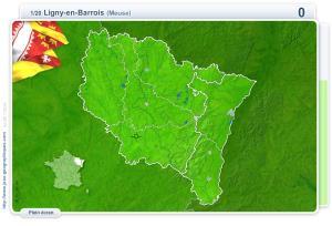 Villes d'Alsace et de Lorraine. Jeux géographiques