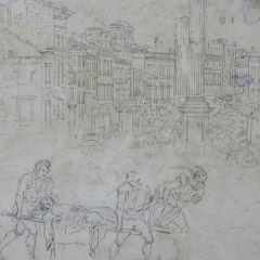 Vista de la Calle del Coso (II), Zaragoza