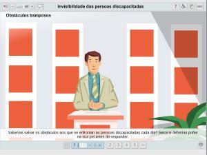 Invisibilidade das persoas discapacitadas