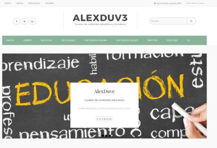 AlexDuve: Curador de contenidos educativos y formativos
