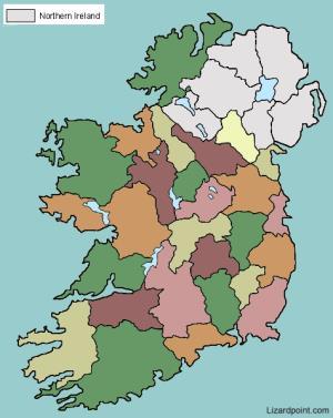 Counties of Ireland. Lizard Point