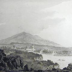 Vista de Catania (Sicilia)