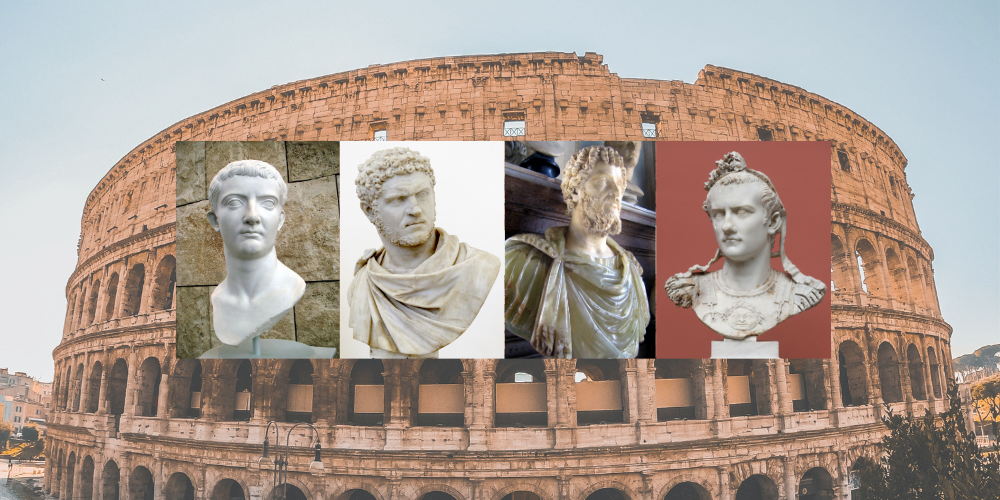 Roman emperors (middle)