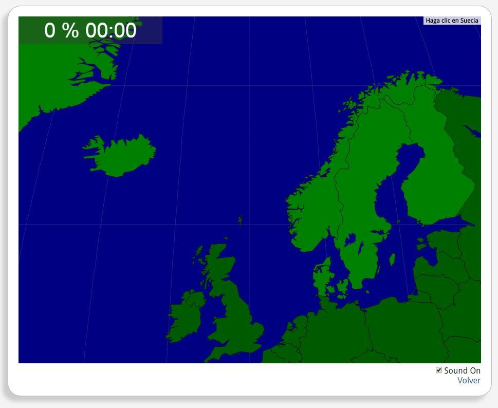 Escandinávia: Países. Seterra