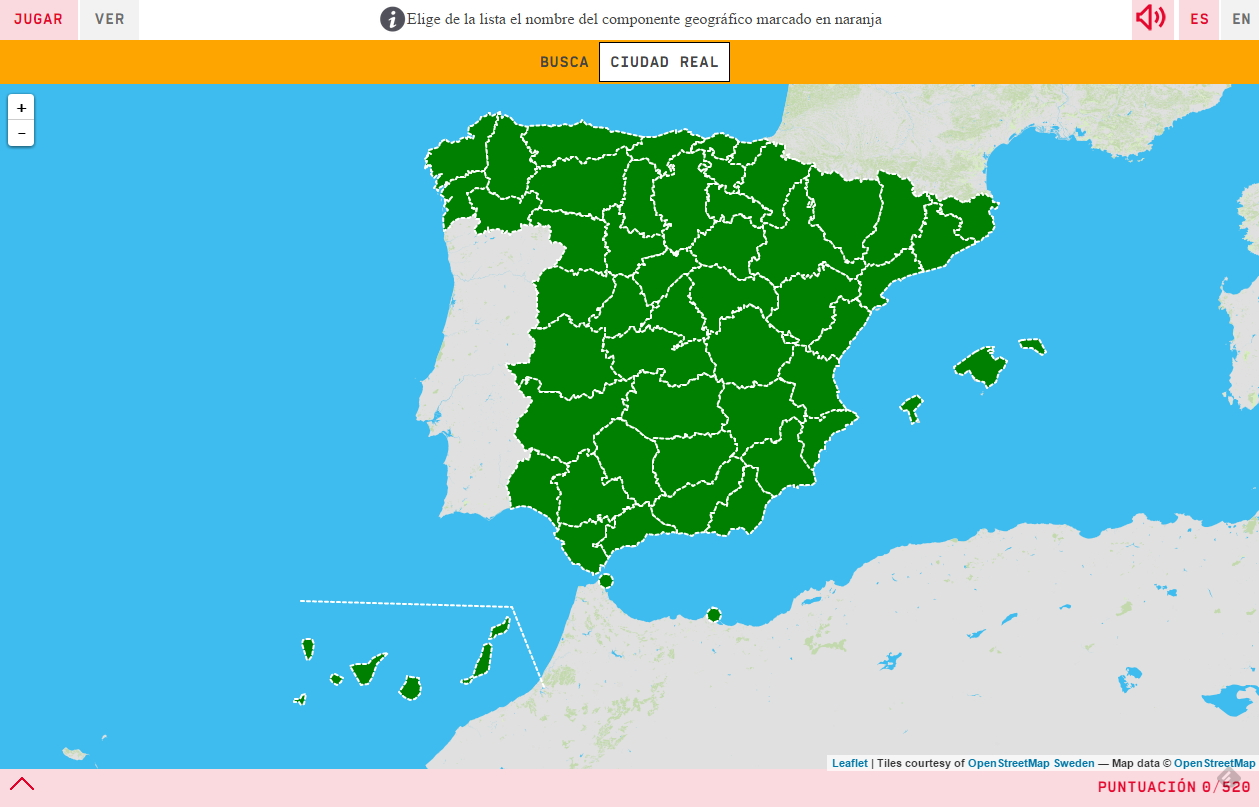 Interactive Map Where Is It Provinces Of Spain Mapas