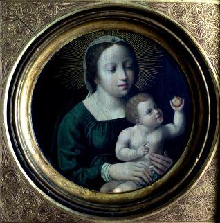 La Virgen y el Niño de la manzana