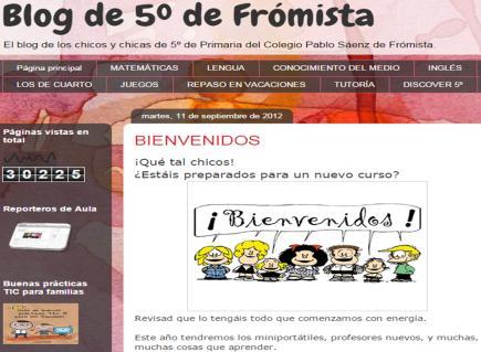 Blog de 5º de Frómista