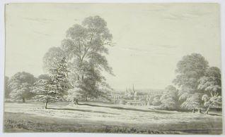 Vista de Lichfield, Staffordshire (Inglaterra)