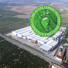 Garnica - committed to reducing its carbon footprint