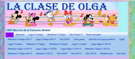 La clase de Olga