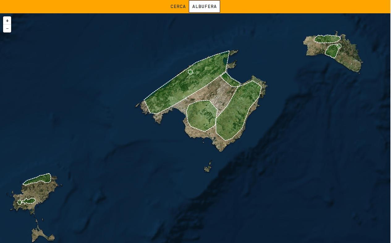 O relevo das Ilhas Baleares