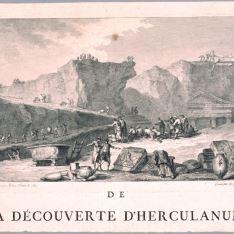 El descubrimiento de Herculano