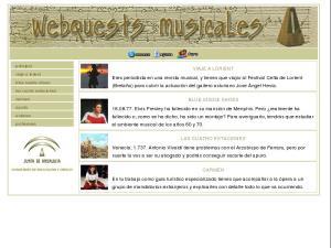 Webquests musicales