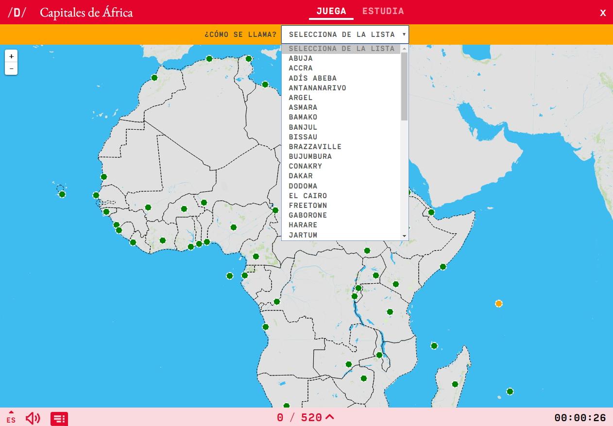Hauptstädte von Afrika
