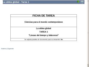 La aldea global - Tarea 1