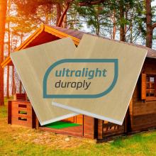 Ultralight Duraply, nouveau panneau ultraléger pour une utilisation en extérieur