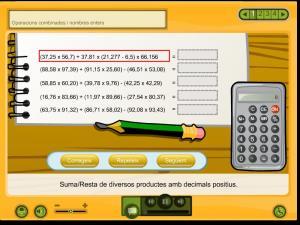 Operacions combinades i nombres enters