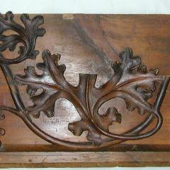 Tablero tallado (posible fragmento de sillería)