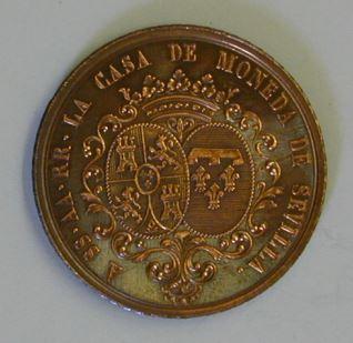 Visita de los Duques de Montpensier a la Casa de la Moneda de Sevilla