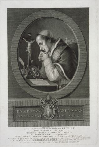 Retrato de Pío séptimo