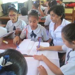 Experiencia de uso de la narrativa audiovisual en el aula. Cristo Rey. José Leonardo Ortiz (Perú)
