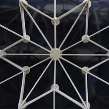 Le contreplaqué de peuplier Fireshield inspire le Gothic Pavilion