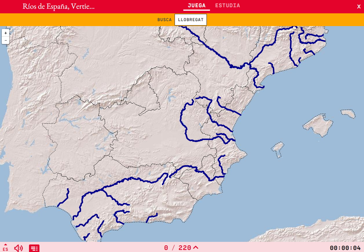 Rivers of Spain, Mediterranean rivers