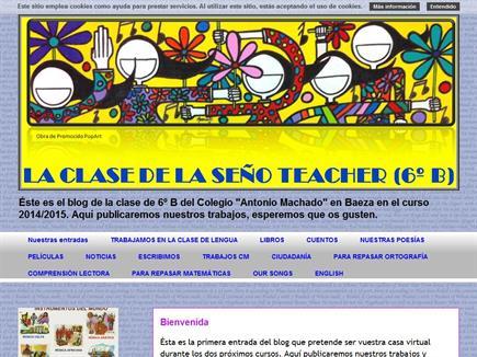 La clase de la Seño Teacher (6º B)