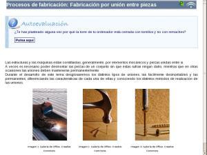 Procesos de fabricación: Fabricación por unión entre piezas