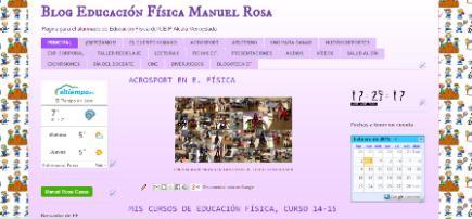 Blog Educación Física Manuel Rosa