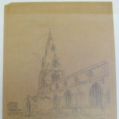 Iglesia de St. Peters en Warmington, Northamptonshire (Inglaterra)